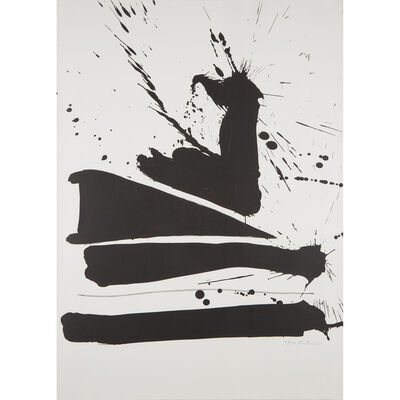 Robert Motherwell, 'Automatism B', 1965-66