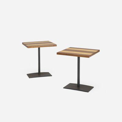 Milo Baughman, 'Occasional tables, pair', c. 1960