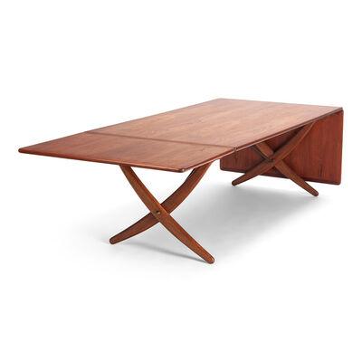 Hans Jørgensen Wegner, 'Sable-legged dining table', 1955