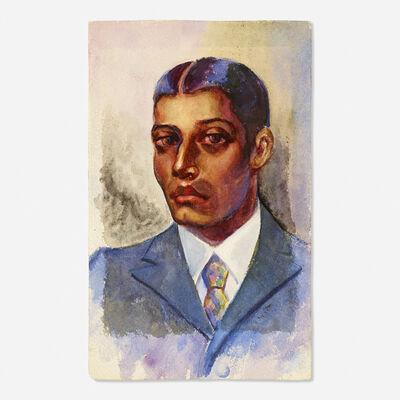 Dox Thrash, 'Untitled (portrait of a man)'