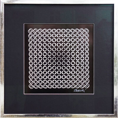 Victor Vasarely, 'Equilibre', 1971
