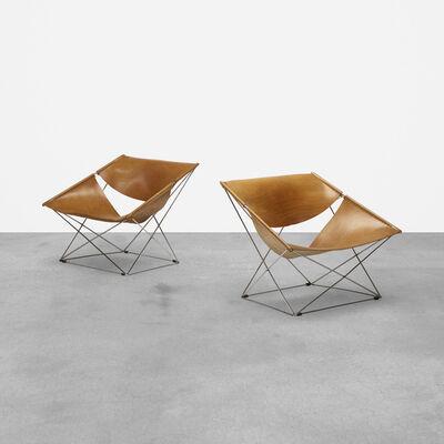 Pierre Paulin, 'Butterfly Chairs Model 675, Pair', 1963