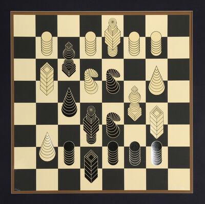Victor Vasarely, 'Chessboard', 1975