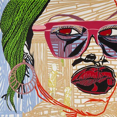Boris Nzebo, 'She want Love', 2014