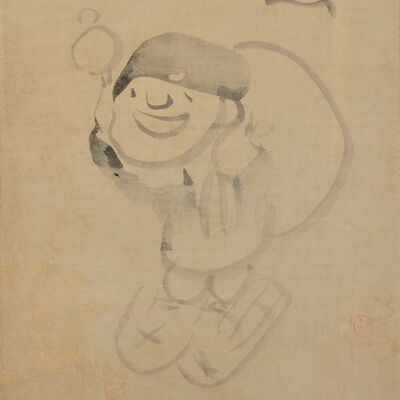Sengai Gibon, 'Daikoku', Early 19th Century