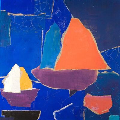 Charlotte Culot, 'Red Sail', 2014