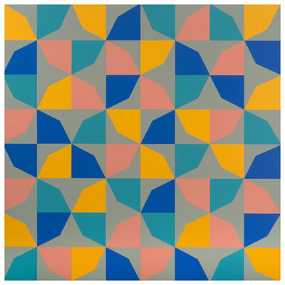 Odili Donald Odita, 'Phantom's Shadow', 2018