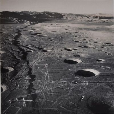 Emmet Gowin, 'Subsidence Craters, Northern End of Yucca Flat, Nevada Test Site', 1987-1996