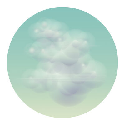 Ted Kincaid, 'Cloud (Inness) 4617', ca. 2015