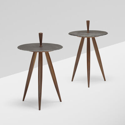 Phillip Lloyd Powell, 'occasional tables, pair', c. 1960