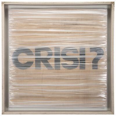 Umberto Mariani, 'Crisi?', 1990