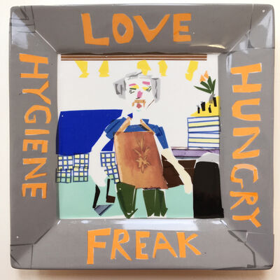 Martin Maloney, 'Untitled (Love Hungry Hygiene Freak)', 2019