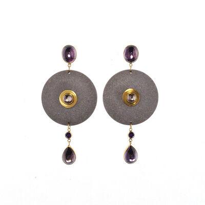 Wendy Ramshaw, 'Earrings'