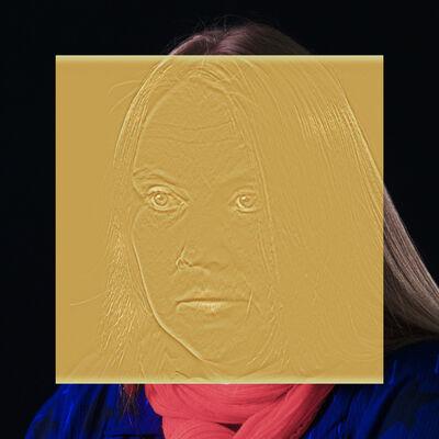 Esther Shalev-Gerz, 'The Gold Room (Wooden Icon Portrait)', 2016