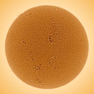 Alan Friedman, 'Big Orange Sun '