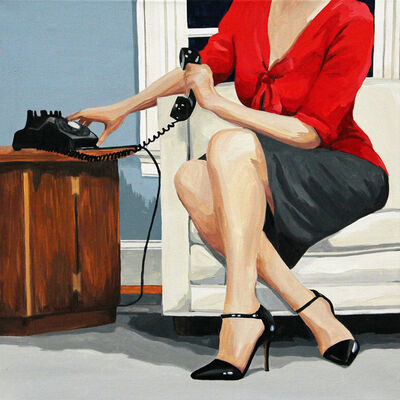 Leslie Graff, 'Her Call', 2020