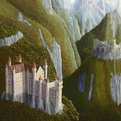 Bruce Ackerson, 'Two Castles', 2015