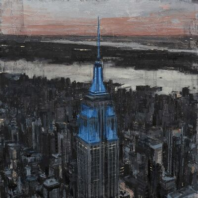 Valerio D'Ospina, 'ESB at Sunset', 2018