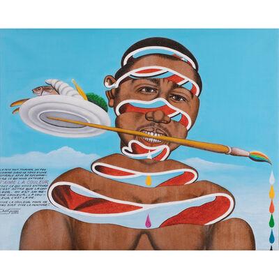 Chéri Samba, 'J'aime la couleur', 2004