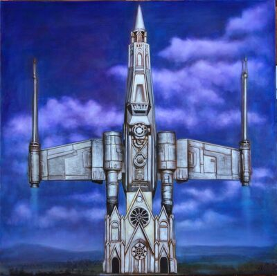Ron English, 'Star Wars Church', 2015