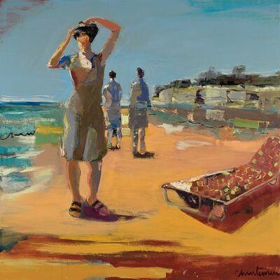 Linda Christensen, 'Capitola Cliffs'