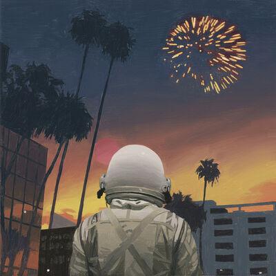 Scott Listfield, 'City Fireworks', 2017