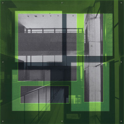 Thomas Locher, 'frame.framed.06 [Olivetti Technical Center and Warehouse, Yokohama, Tokyo 1970, Kenzo Tange with Urtec]', 2010