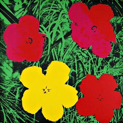 Andy Warhol, 'Flowers (Red & Yellow)', ca. 1970