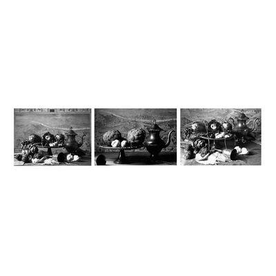 Dora Franco, 'Alcachofas con jarra I, II & III (B&W). Triptych.', 2015