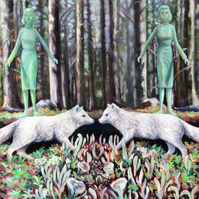 Kendra Lynn Bulgrin, 'As far as the unimagined animal', 2018