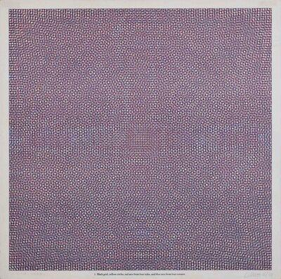 Sol LeWitt, 'Black grid... 1', 1972