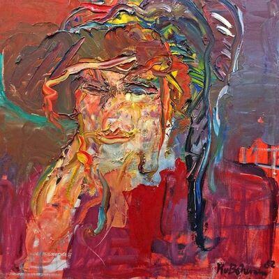 Kees van Bohemen, 'Portret van Betty', 1982