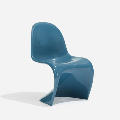 Verner Panton, 'Panton Chair (Blue)', 1967