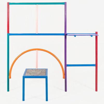 Przemek Pyszczek, 'Przemek Pyszczek, Wall Mounted Shelf with Seat, 2019', 2019