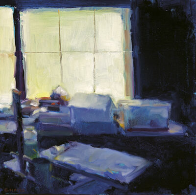 Connie Hayes, 'Boxes on Vinalhaven'