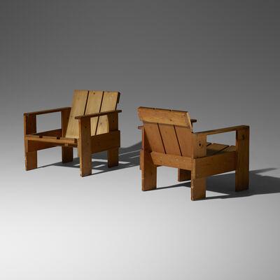 G.A. van de Groenekan, 'Crate chairs, pair', 1934
