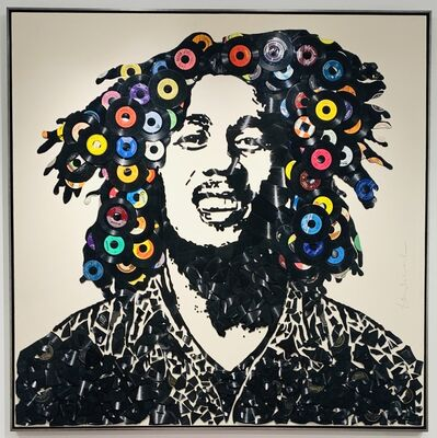 Mr. Brainwash, 'Bob Marley', 2019