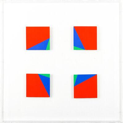Edoardo Landi, 'Due quadrati virtuali', 1999