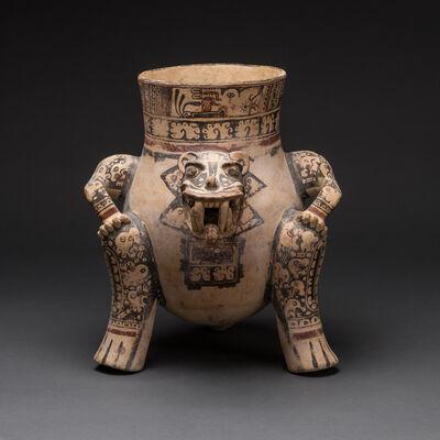 Unknown Pre-Columbian, 'Guanacaste-Nicoya Jaguar Effigy Vessel', 800 AD to 1500 AD