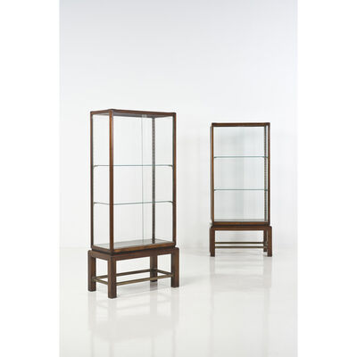 Gio Ponti, 'Pair of display cases'