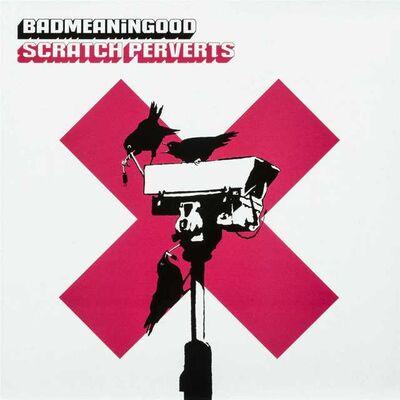 Banksy, 'BADMEANINGGOOD, Scratch Perverts', 2003