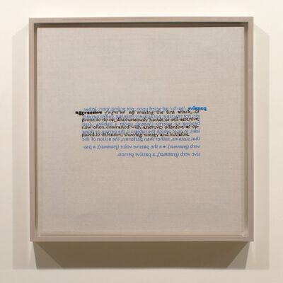 Cornelia Parker, 'Passive, Aggressive (verso)', 2015