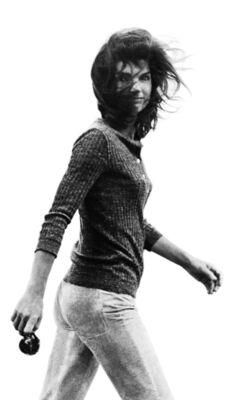 Ron Galella, 'Windblown Jackie, New York', 1971