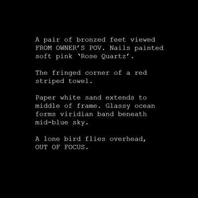 Kristin McIver, '#HappyFeet (Typecast Series)', 2017