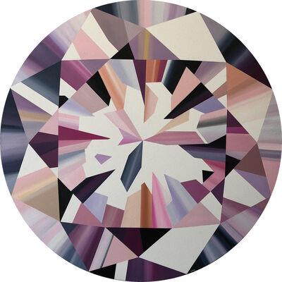 Kurt Pio, 'Pink Round Diamond', 2018