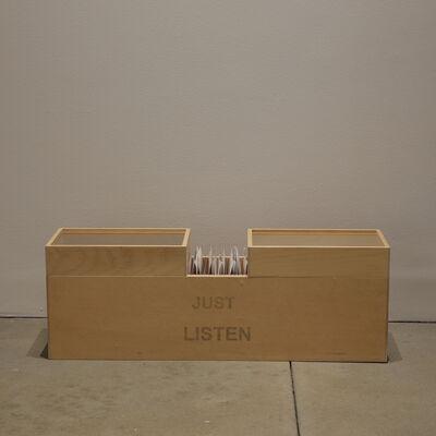 Robert Kinmont, 'JUST LISTEN', 2014