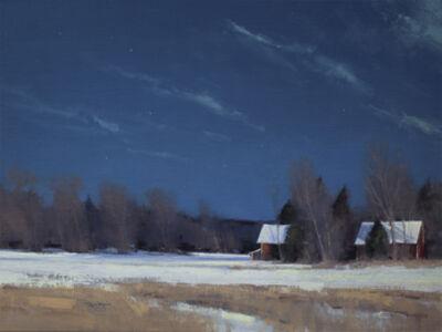 Ben Bauer, 'Grant Township Farm by Moonlight', 2014