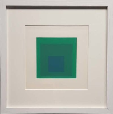Josef Albers, 'Emeraude From Hommage To The Square', 1965