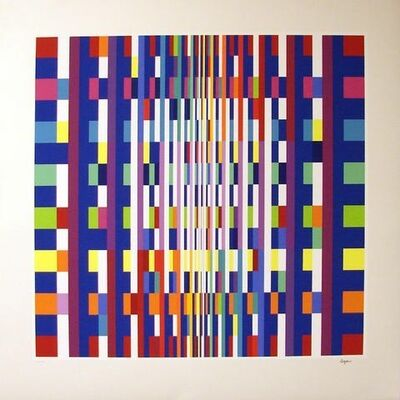 Yaacov Agam, 'Big Bang ', 2007