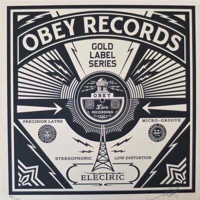 Shepard Fairey, 'Gold Label Series', 2013